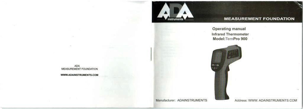 Пирометр ADA