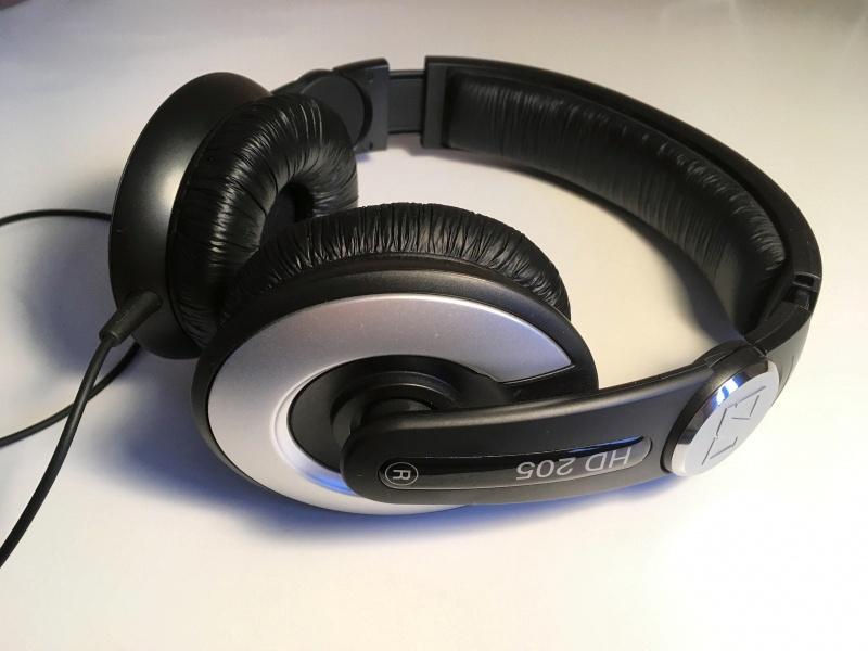 Наушники Sennheiser HD 205 II — купить в интернет-магазине ОНЛАЙН ... 74306ea1d86bf