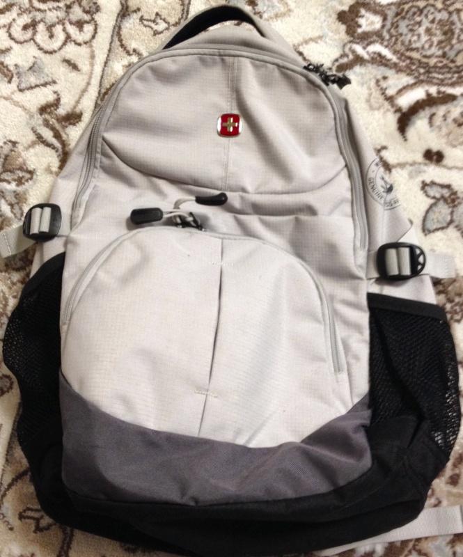 Рюкзак wenger 3001402408 серый видео ящик рюкзак для рыбалки летней