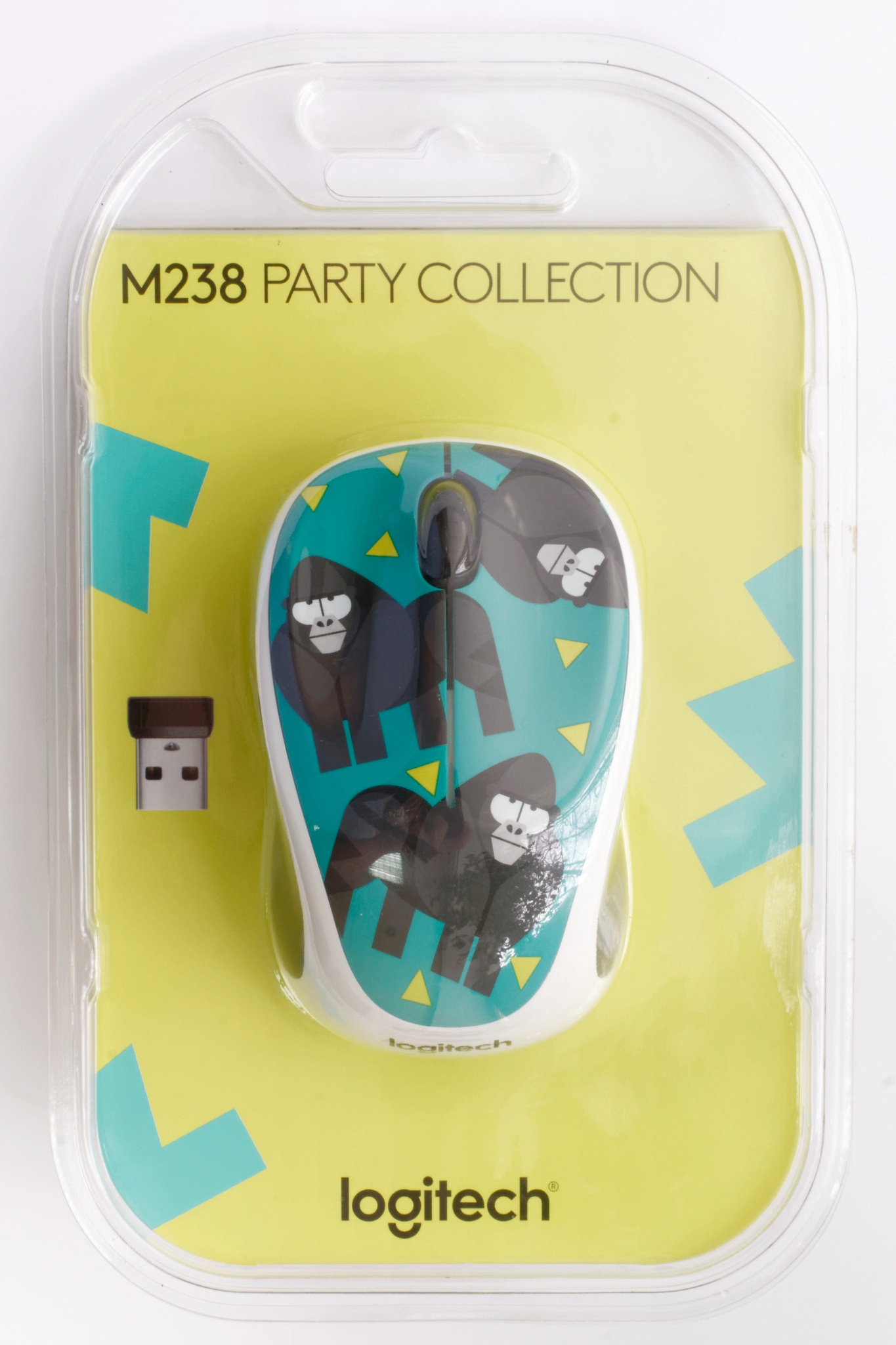 Logitech Wireless Mouse M238 Party Collection L070 Gorilla3 Daftar Gorilla 910 004715 1