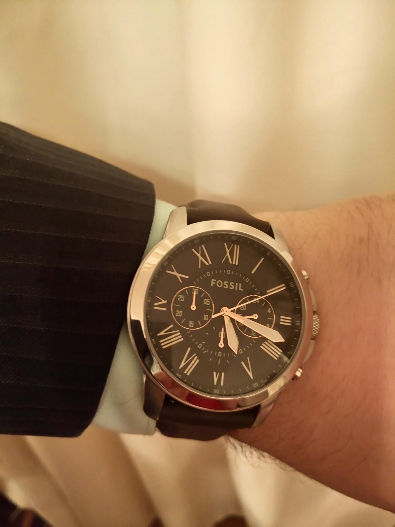 Наручные часы fossil fs4813 chronograph час купить дизель