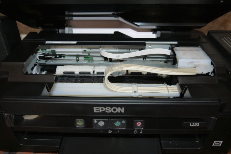 Обзор на Струйное МФУ Epson L222 - изображение 8