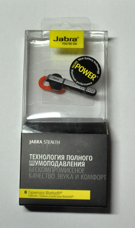 Обзор от покупателя на Bluetooth-гарнитура Jabra Stealth