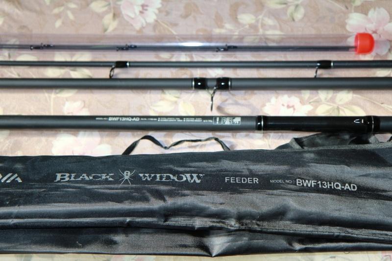 Удилище daiwa black widow feeder 3.60м до 150г фидер