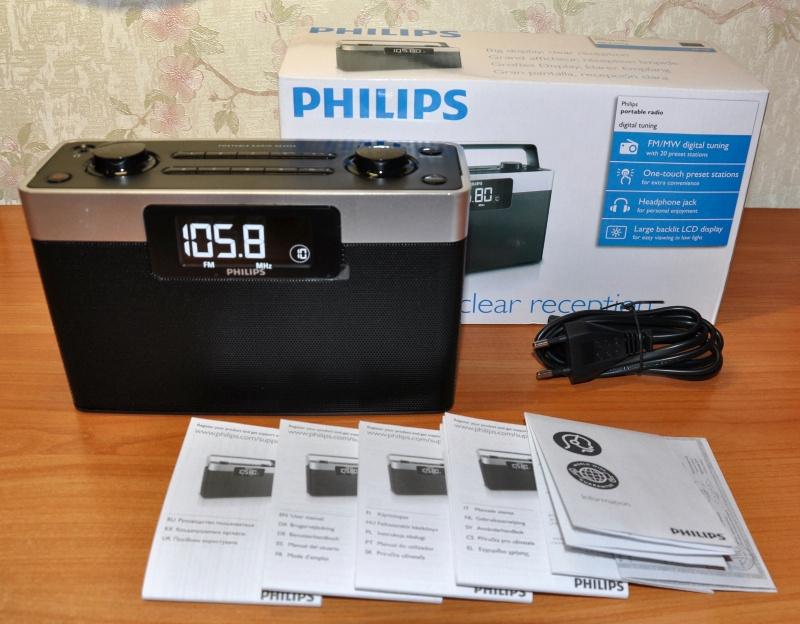Обзор на Радиоприемник Philips AE2430/12 - изображение 1