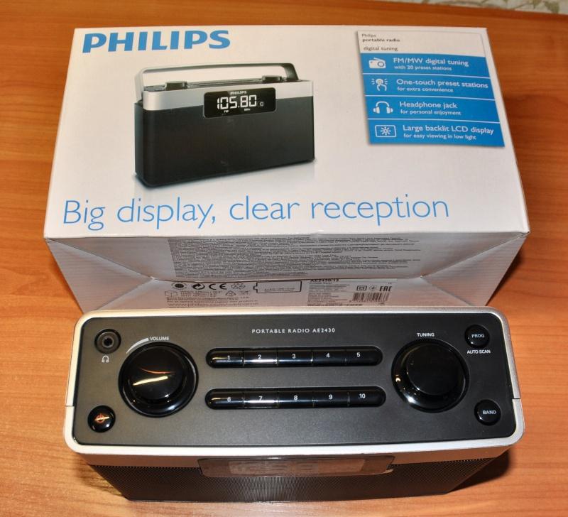 Обзор на Радиоприемник Philips AE2430/12 - изображение 2