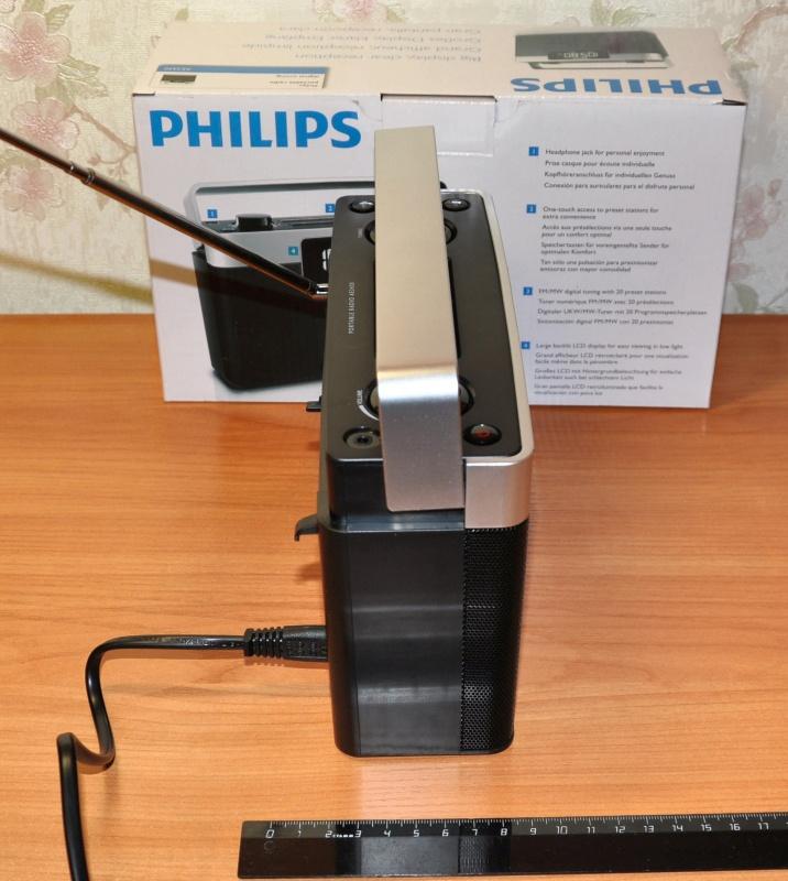 Обзор на Радиоприемник Philips AE2430/12 - изображение 5