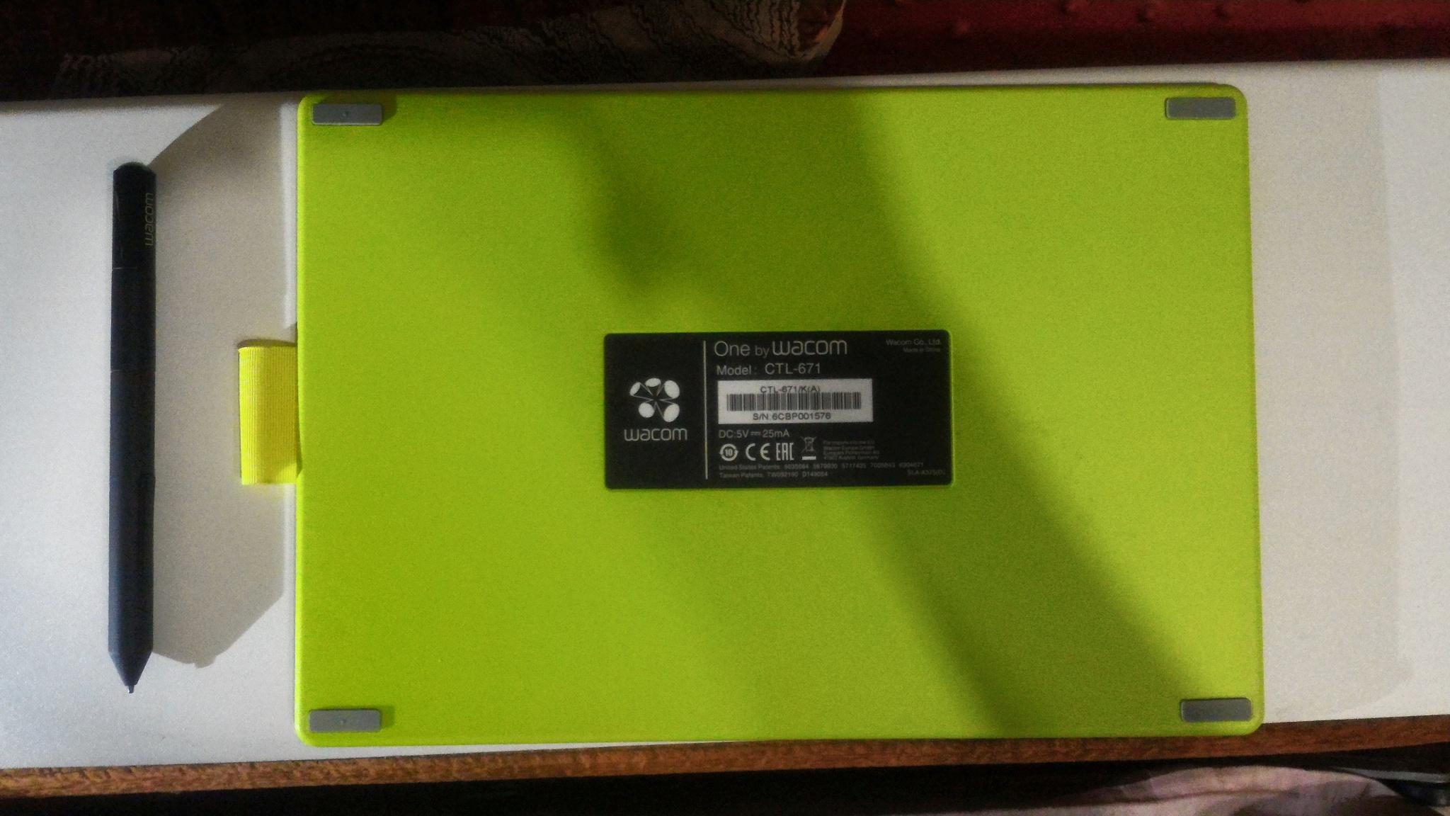 Обзор от покупателя на Планшет графический Wacom One M (Medium) CTL