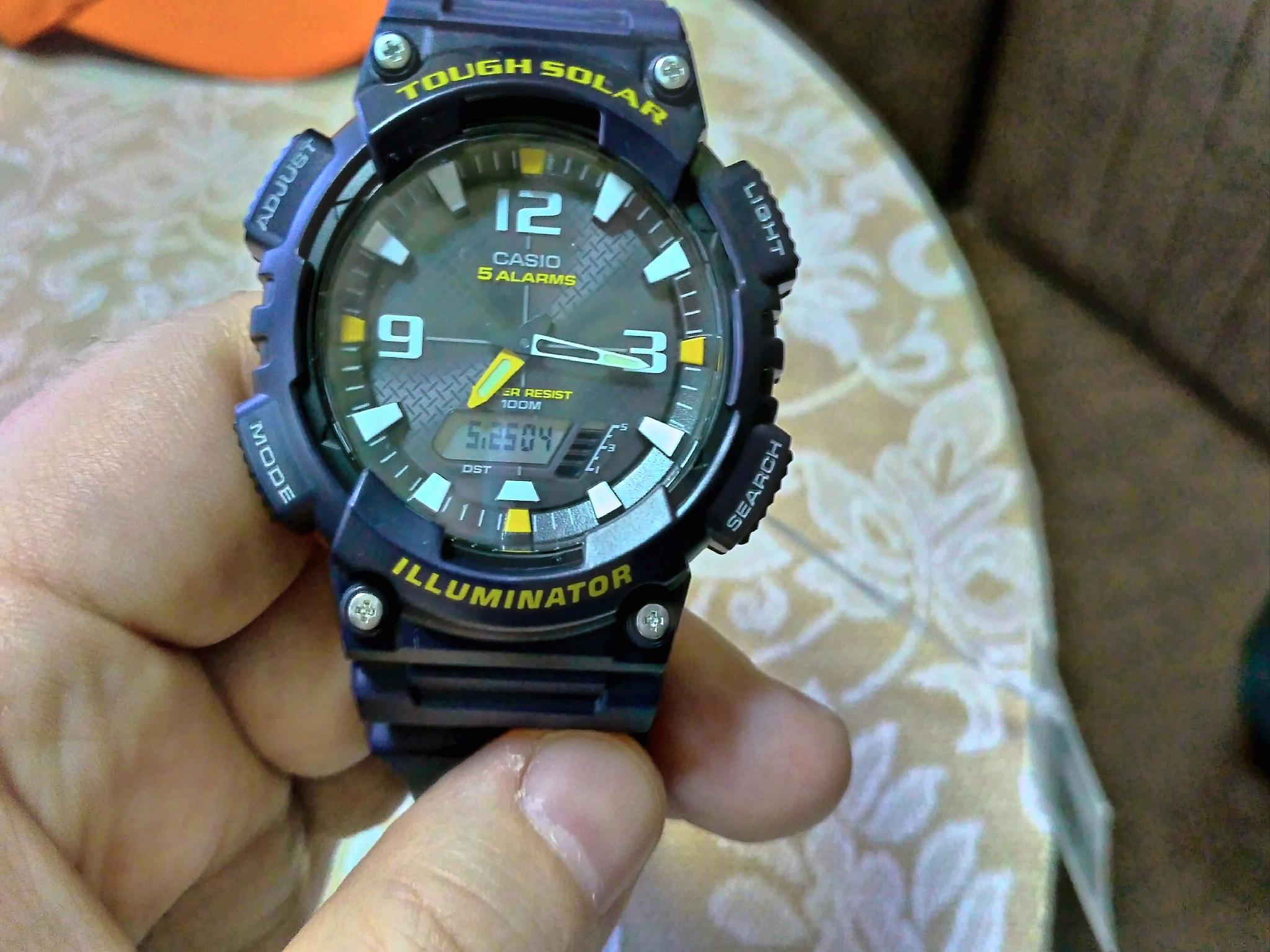 Наручные часы касио 810