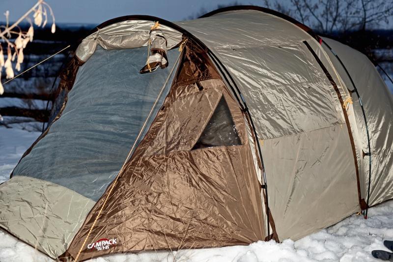 Обзор на Палатка кемпинговая CAMPACK-TENT Land Voyager 4 - изображение 3