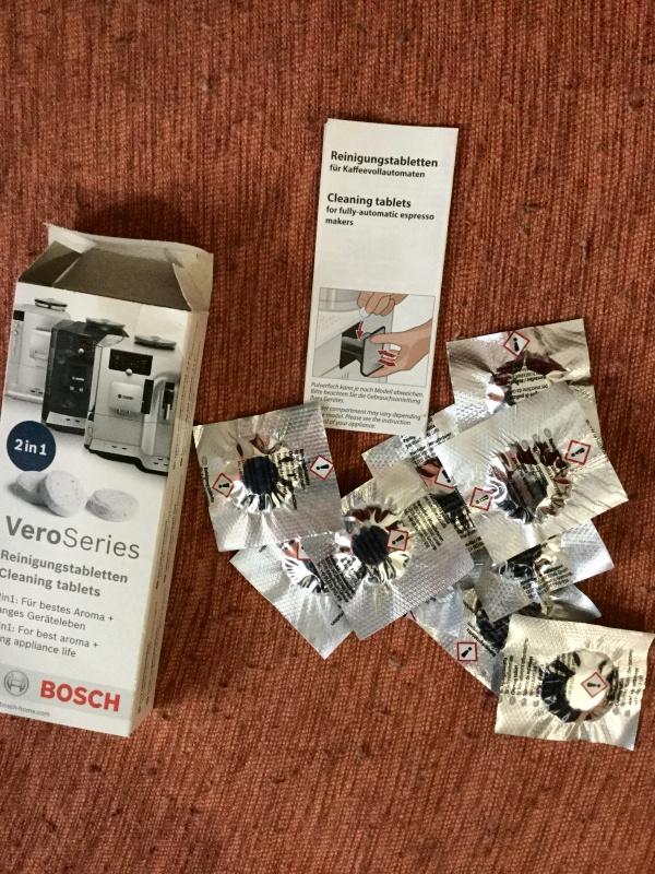 Bosch Reinigungstabletten TCZ8001 2in1