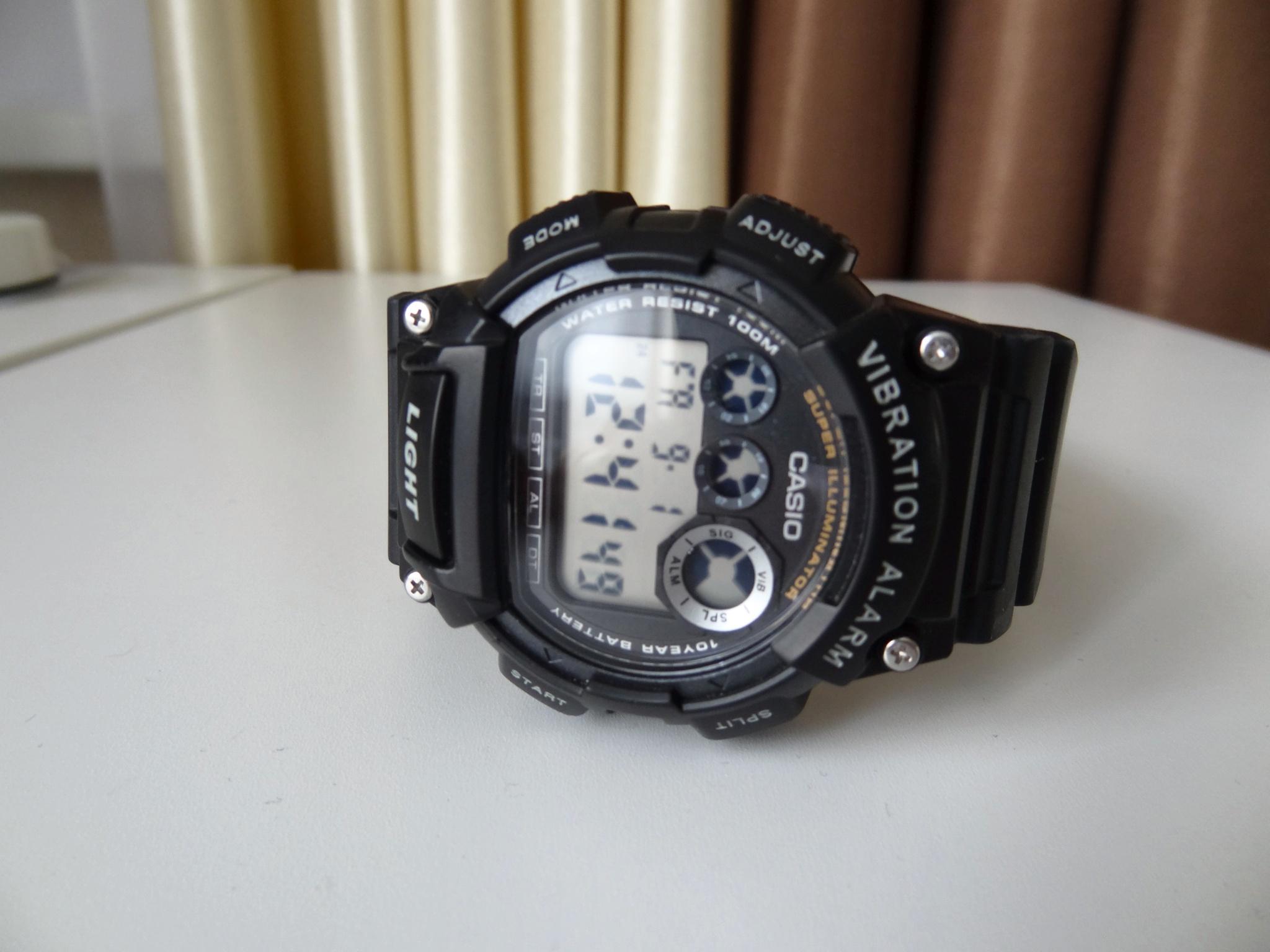 f5fc9ec0 Обзор на Наручные часы CASIO W-735H-1A CASIO COLLECTION - изображение 1