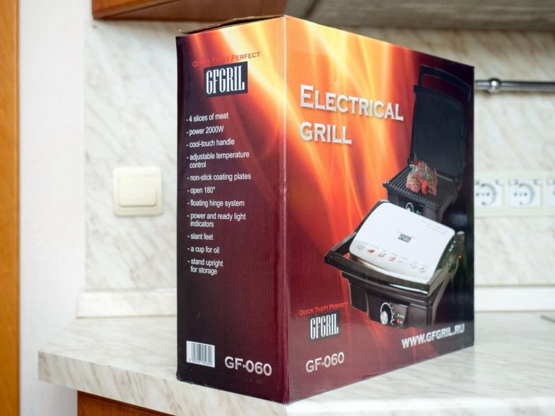 Обзор на Электрический гриль GFGRIL GF-060 - изображение 2