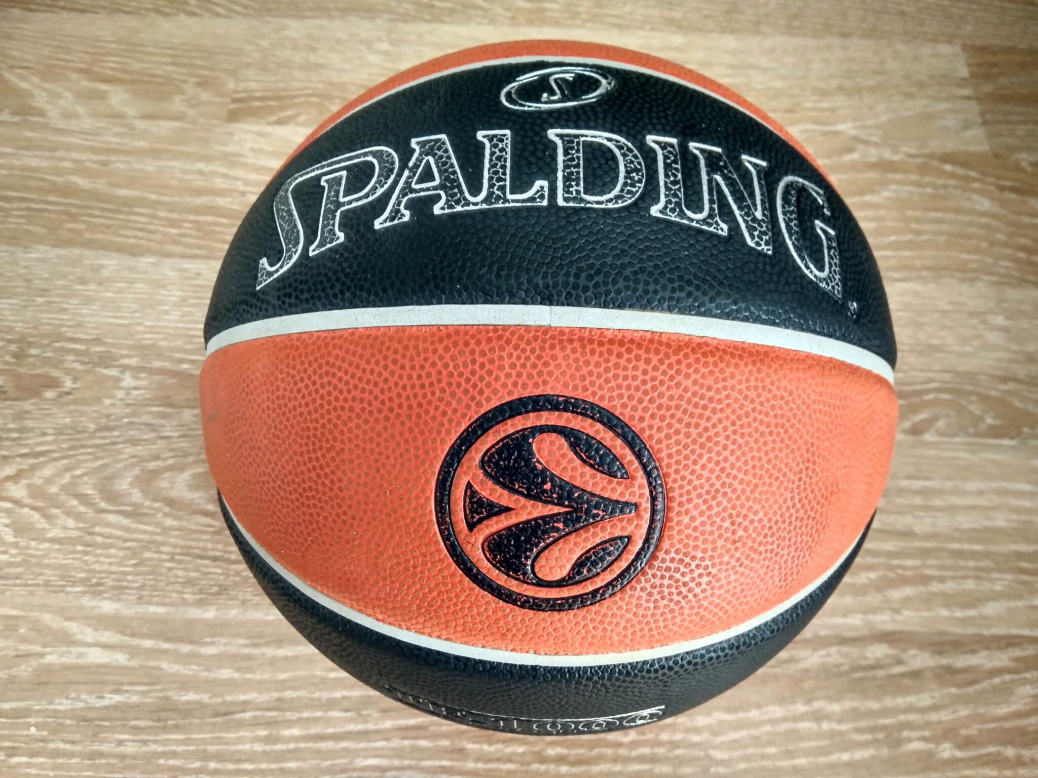 55423e05 Обзор на Мяч баскетбольный Spalding TF-1000 Legacy Euroleague Offical Ball  - изображение 1