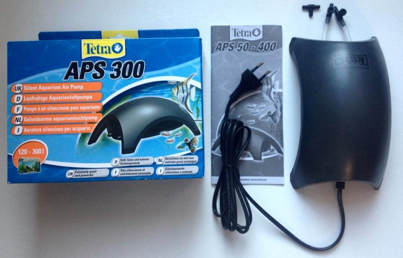 Обзор на Компрессор Tetra APS 300 - изображение 1