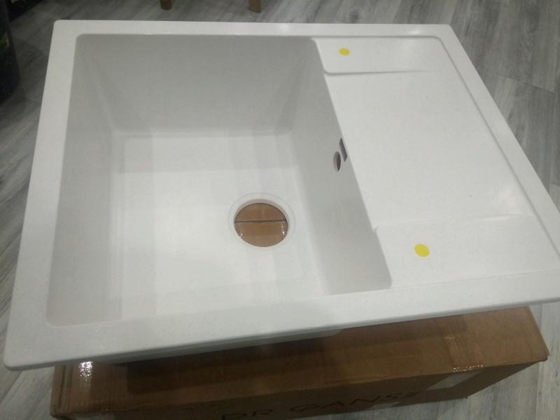 Обзор на Кухонная мойка Dr.Gans Техно 650 белый - изображение 1