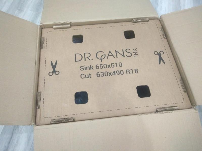 Обзор на Кухонная мойка Dr.Gans Техно 650 белый - изображение 3