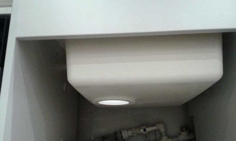 Обзор на Кухонная мойка Dr.Gans Техно 650 белый - изображение 6