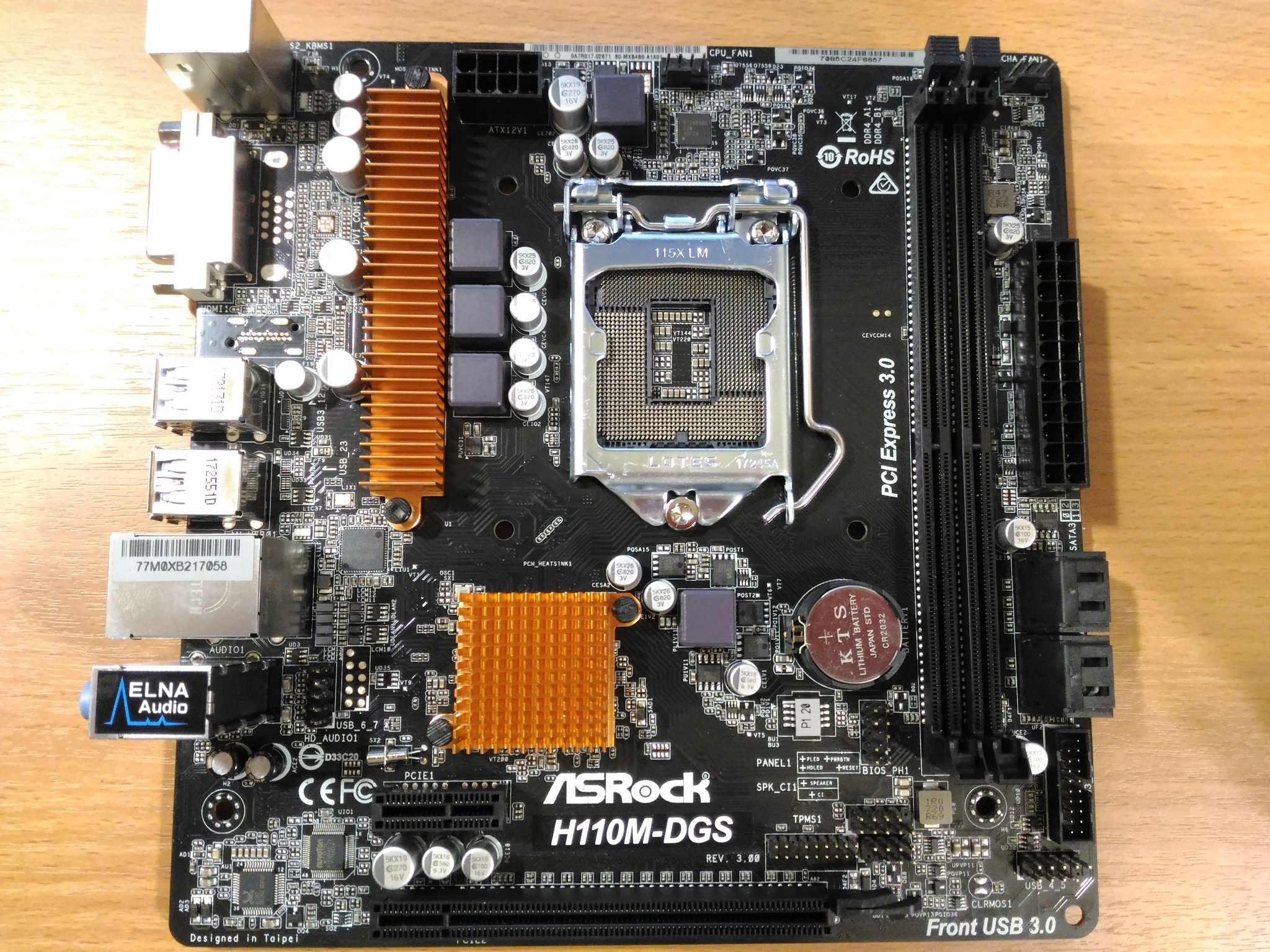 ASRock H110M-DGS R2.0 Intel USB 3.0 Drivers Windows XP