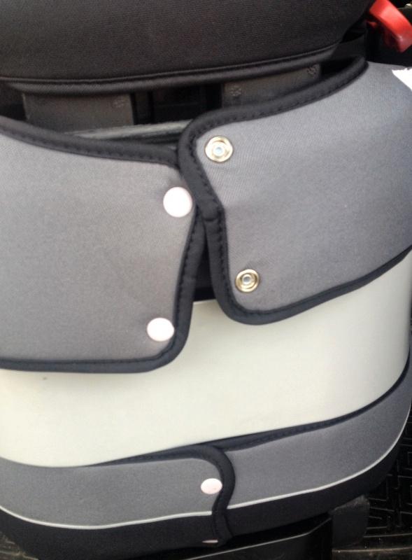 Обзор на Детское автокресло CBX by Cybex Solution Cobblestone (15-36 кг) - изображение 9
