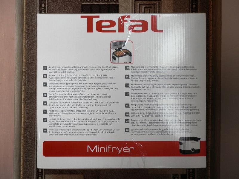 Обзор на Фритюрница Tefal FF 2200 Minifryer - изображение 4