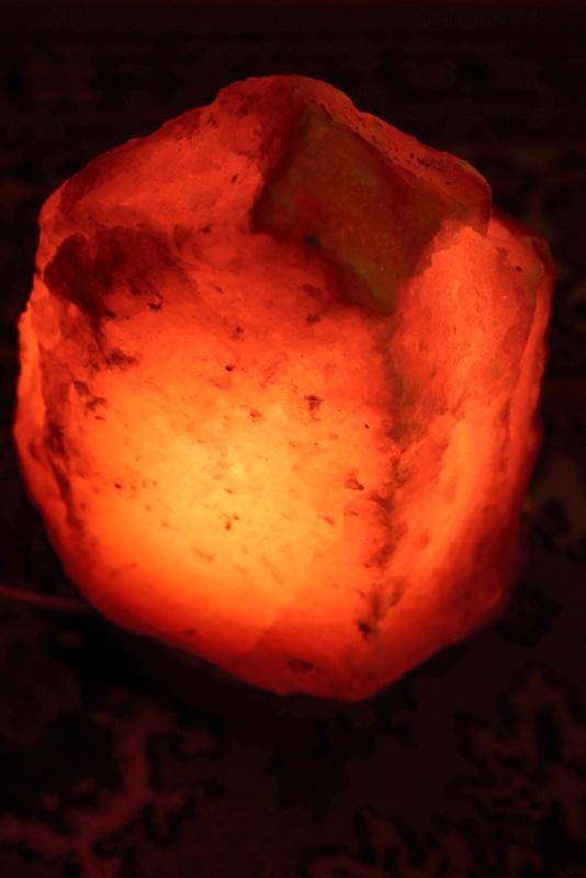 Соляная лампа кончается или нет