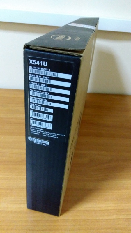 Обзор на Ноутбук Asus X541UA-GQ1247T (90NB0CF1-M18870) - изображение 3