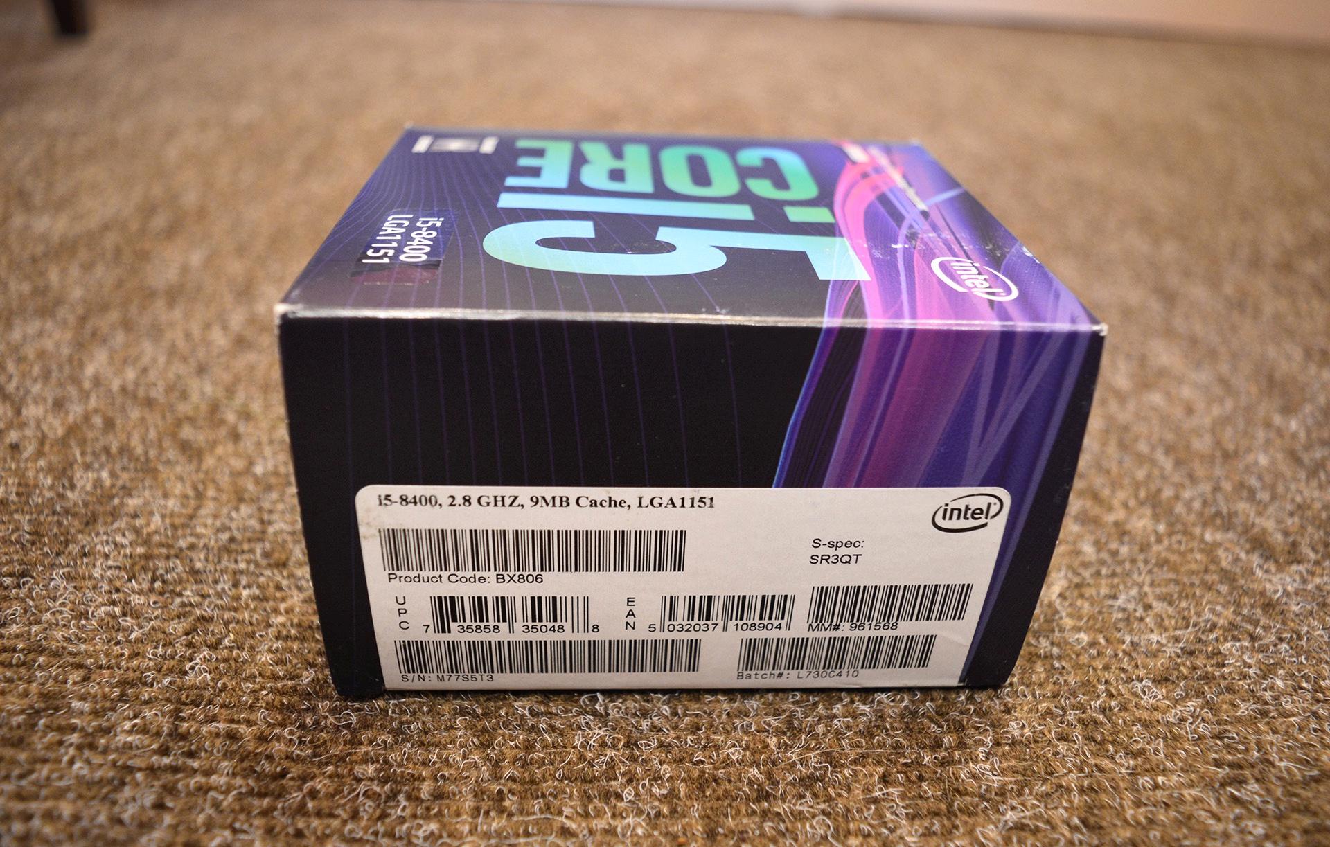 intel i5 8400 coffee lake - HD1920×1223