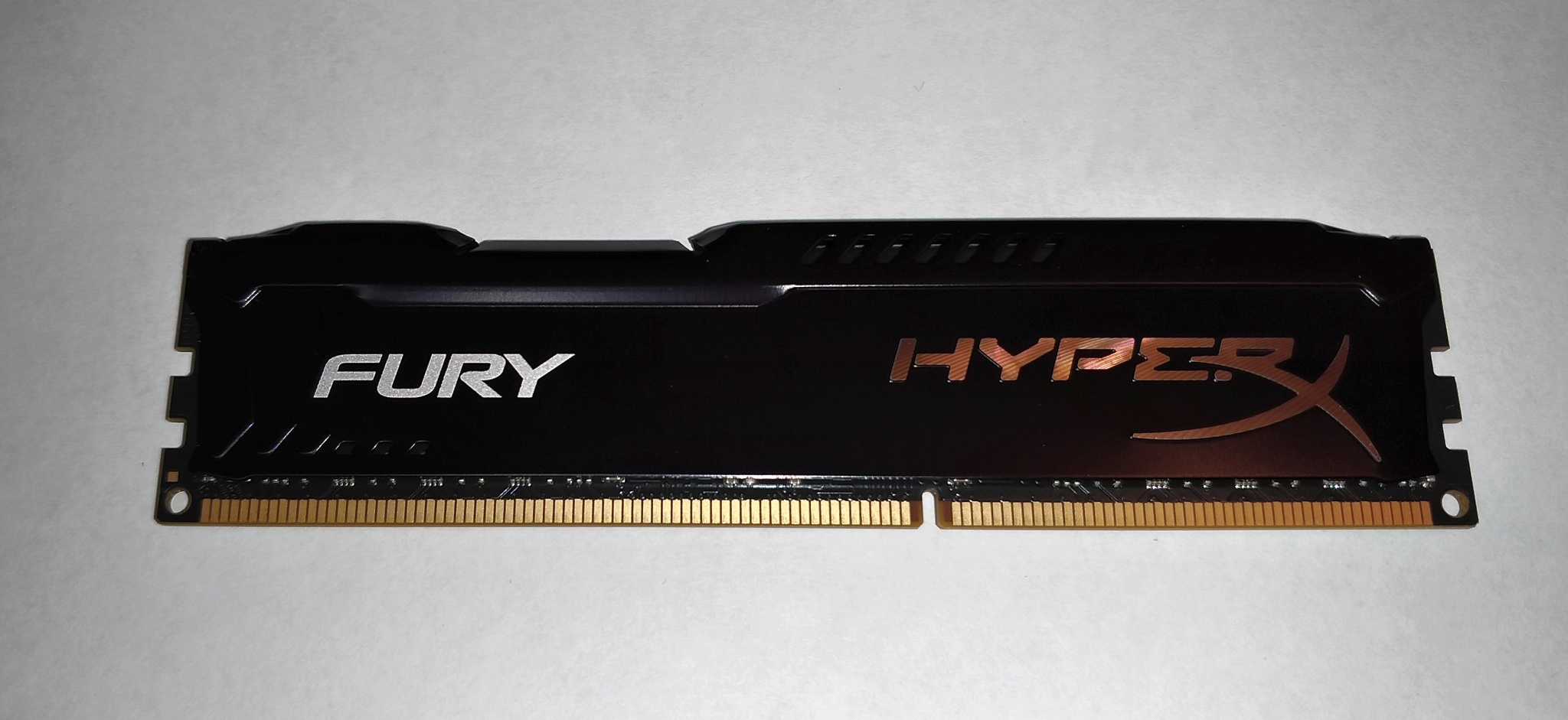 Kingston Dimm Ddr3 8gb 1866mhz Hx318c10fb 8 Hyperx Fury Black Hx318c10frk2 16 16gb Pc15000 Red Heatspreader Pc 15000