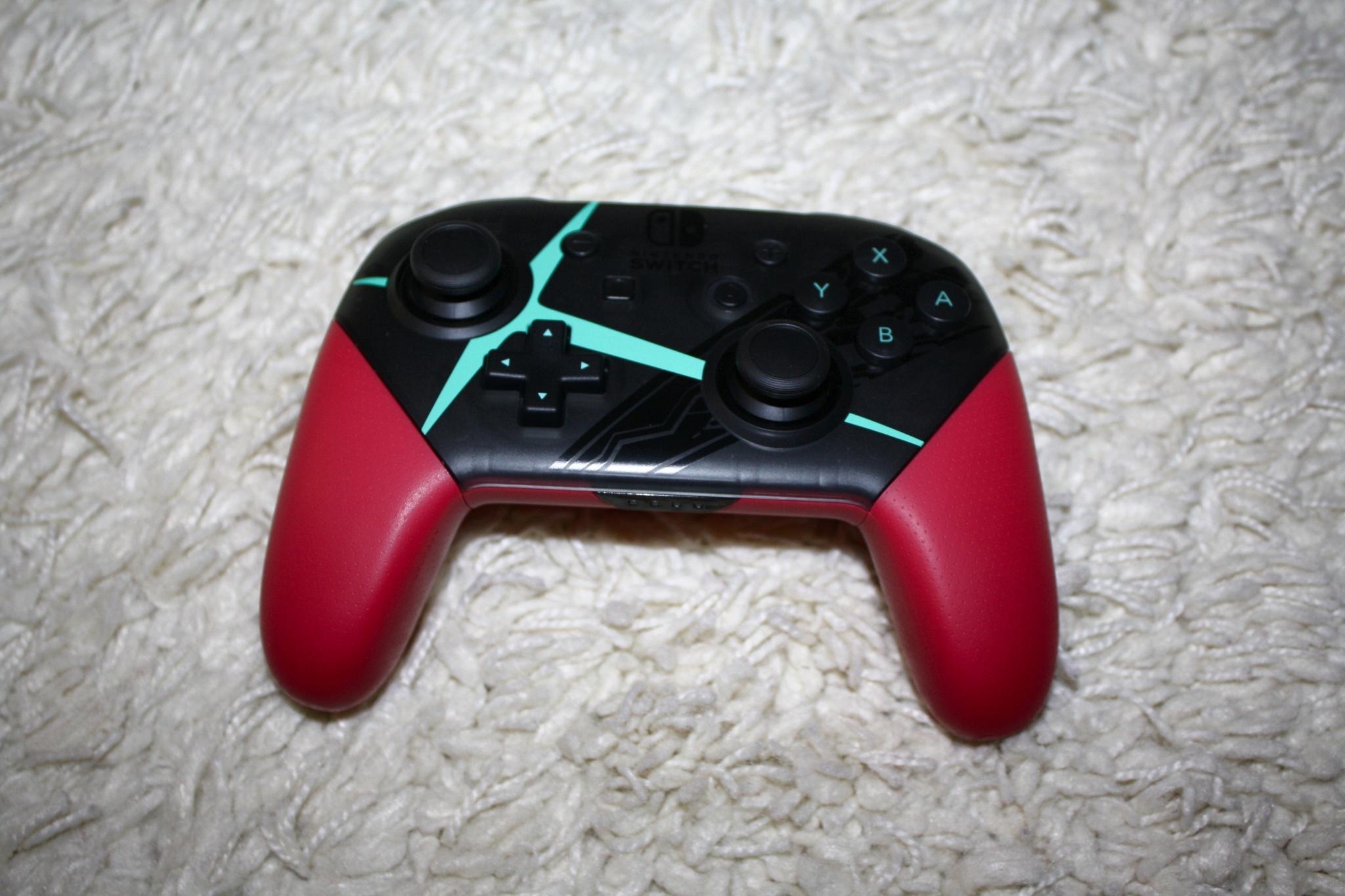 Nintendo Switch Pro Controller Splatoon 2 Edition Xenoblade Chronicles 1