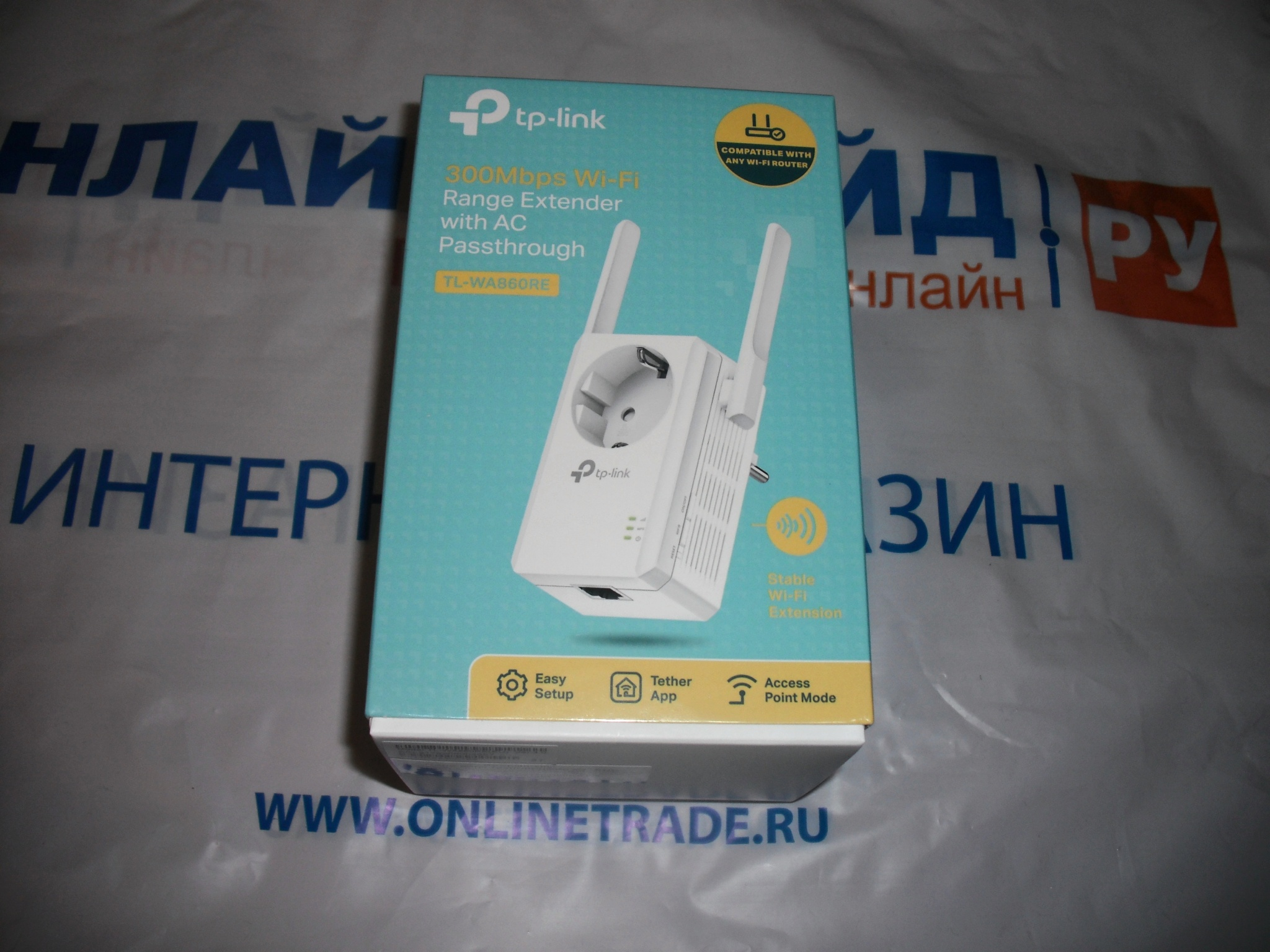 Wi Fi Tp Link Tl Wa860re 80211n 300mbps Wifi Range Extender With Ac Passthrough 24