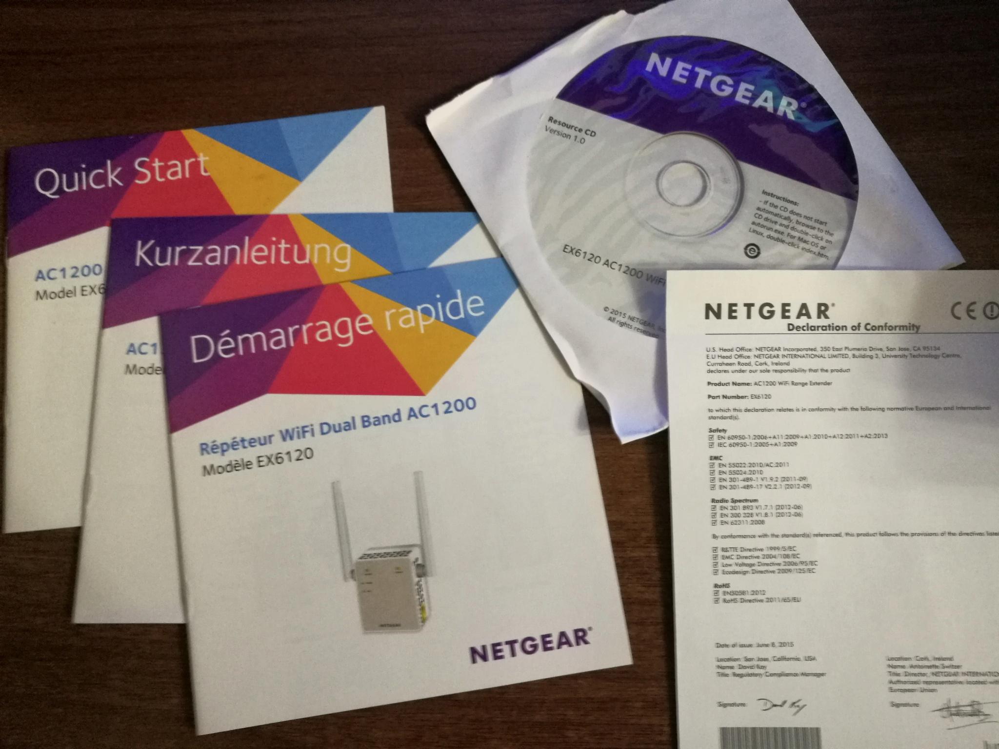 Обзор от покупателя на Беспроводной повторитель NetGear
