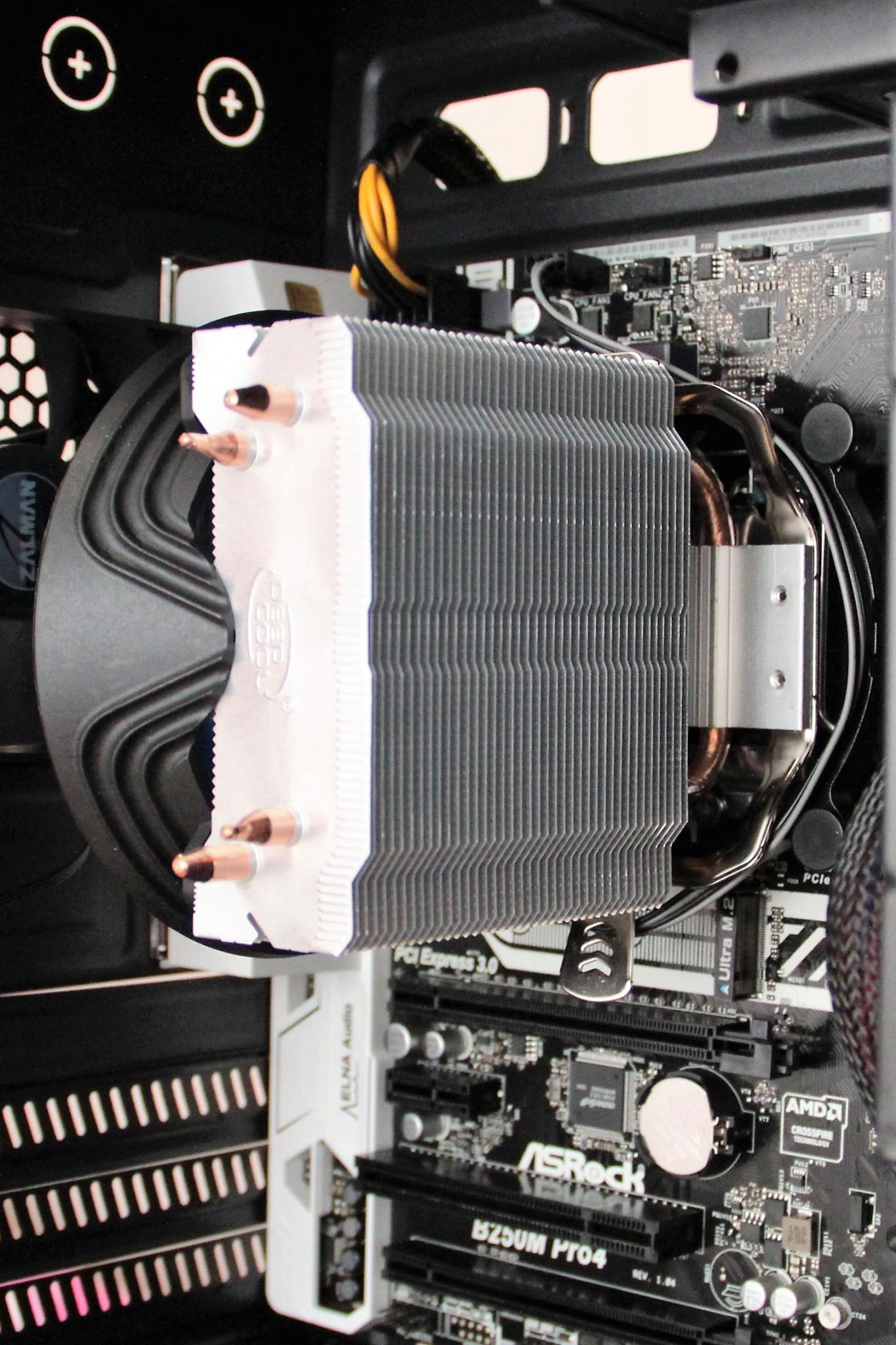 Deepcool Gammaxx 200t Processor Cooler Ret 1