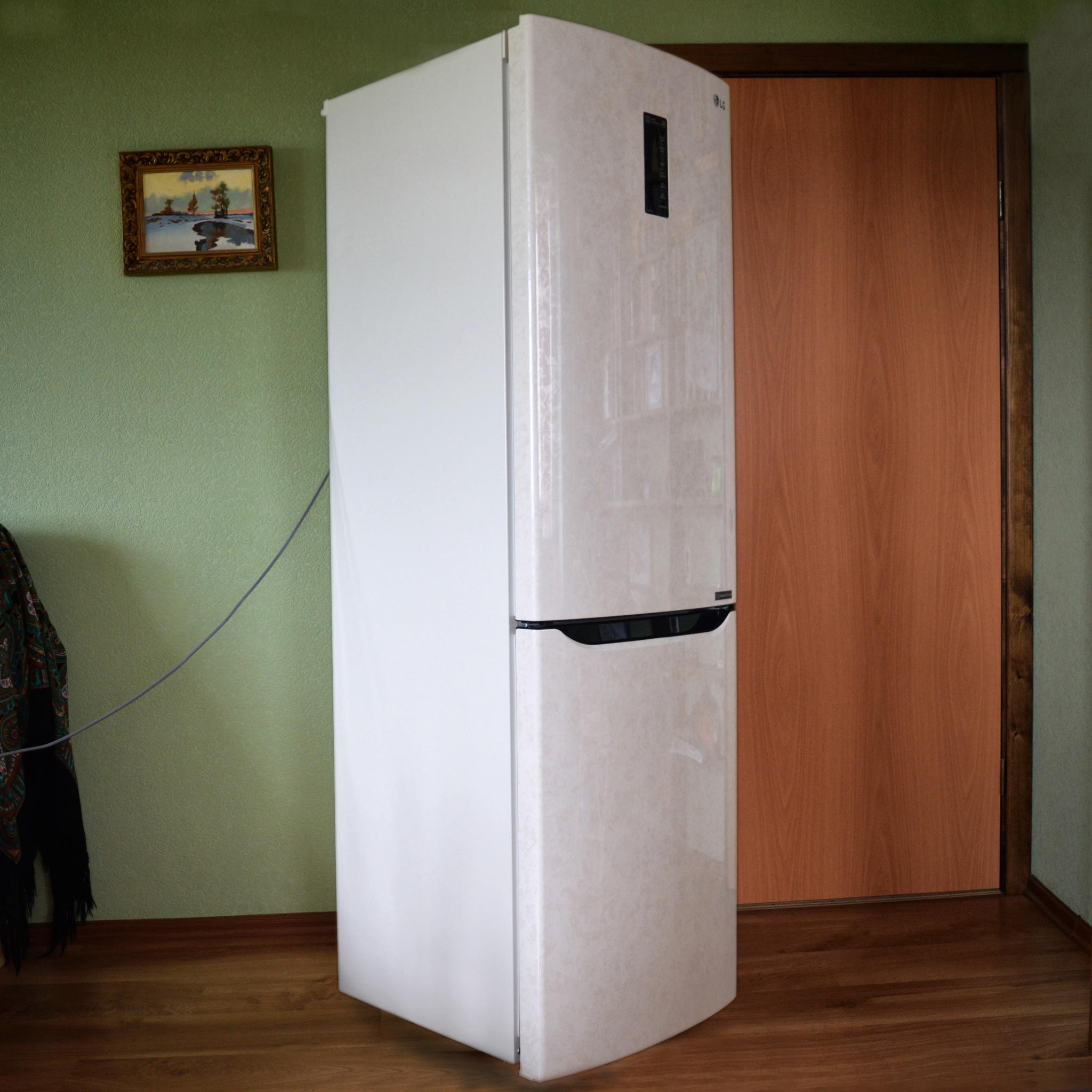 обзор от покупателя на холодильник Lg Ga B429seqz интернет магазин