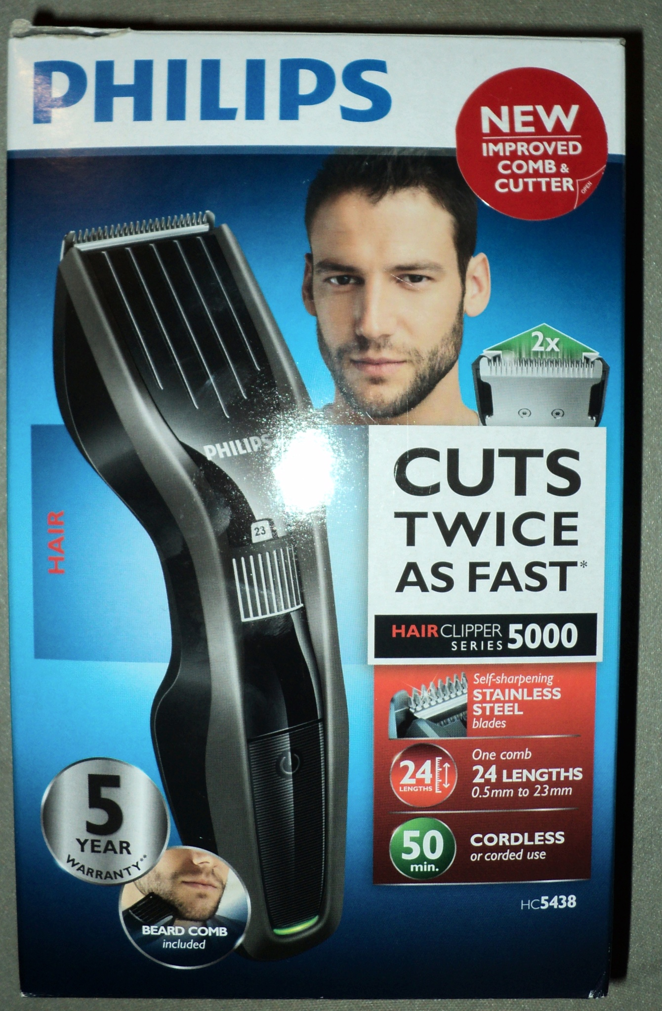Машинка для стрижки волос philips hc5438 15