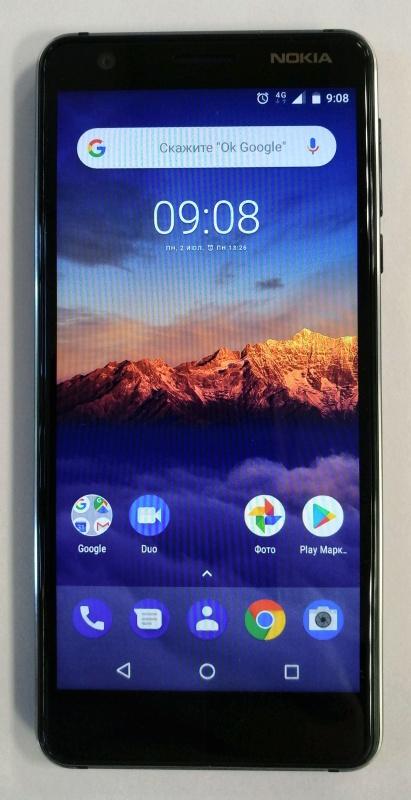 41c6e4c937966 Смартфон Nokia 3.1 Dual Sim (TA-1063) Black — купить в интернет ...