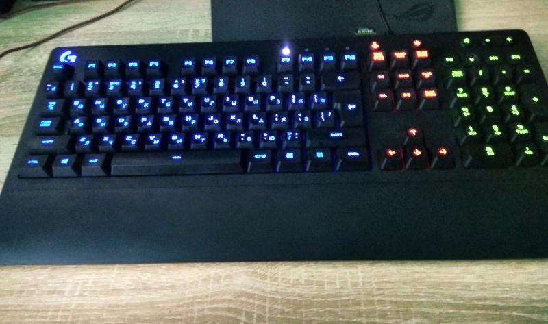 Обзор на Клавиатура Logitech G213 Prodigy Gaming Keyboard (920-008092) - изображение 4