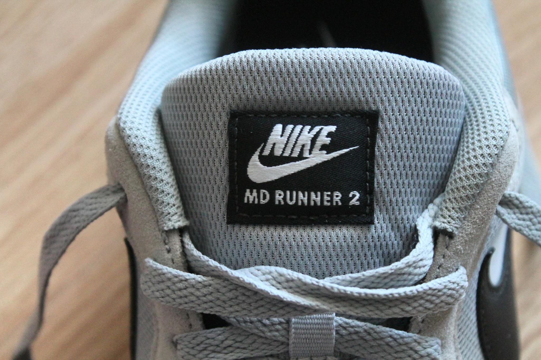 0eb663ee46f3 Обзор на Кроссовки NIKE MD Runner 2 749794-001 мужские, цвет серый, размер