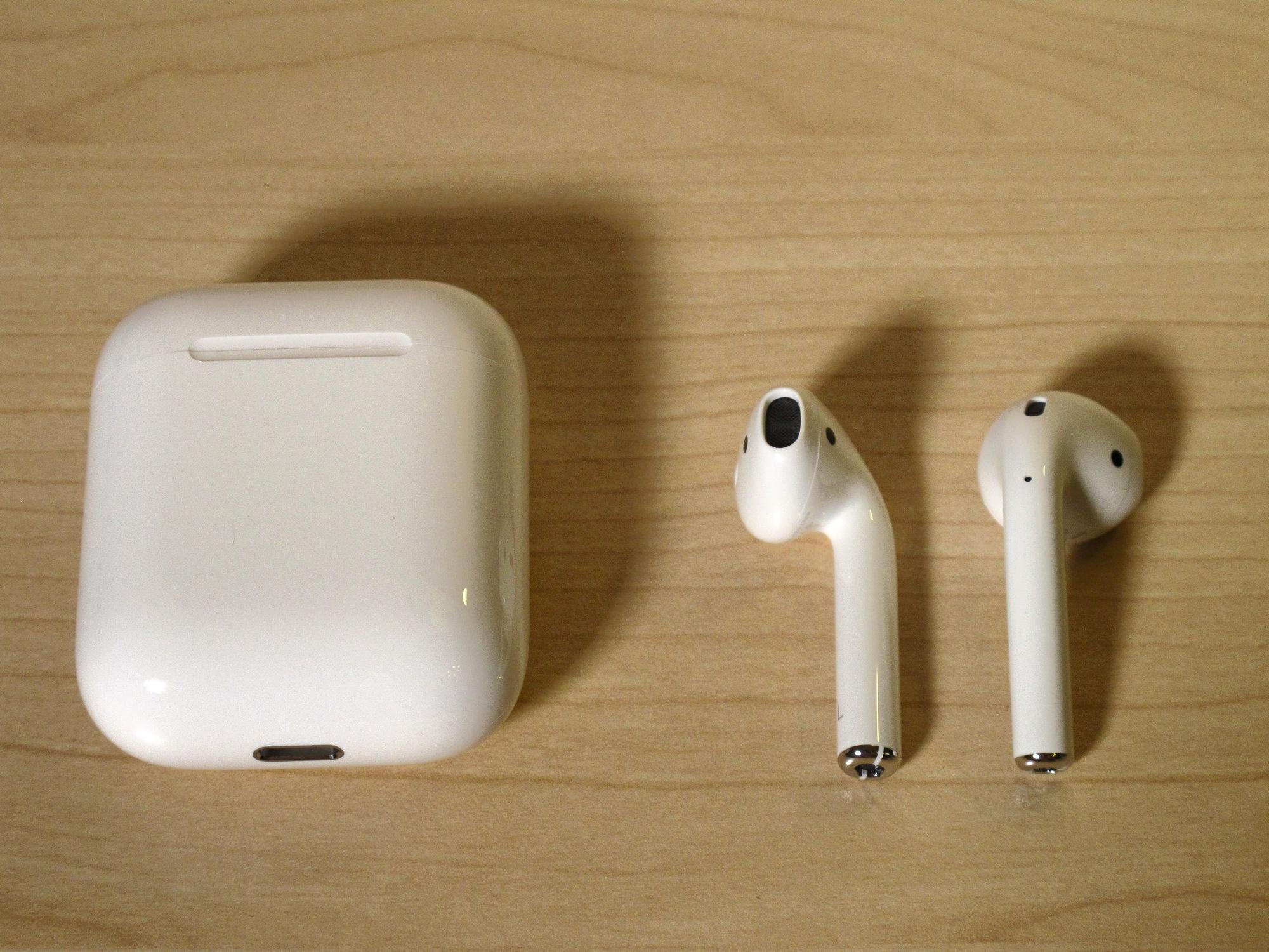 Обзор от покупателя на Наушники Apple AirPods — интернет-магазин ... 312da82b5116b
