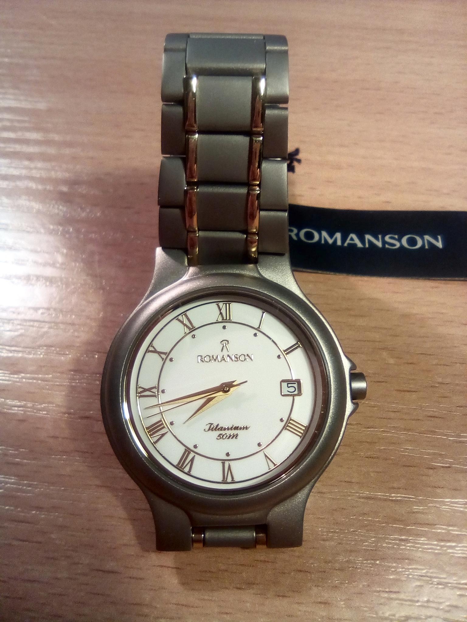 bce2a33f71ff Обзор от покупателя на Наручные часы Romanson TM 8697 MC(WH ...