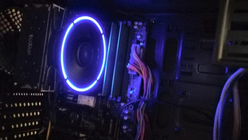 Обзор на Кулер для процессора PCCooler GI-X5B BLUE - изображение 15