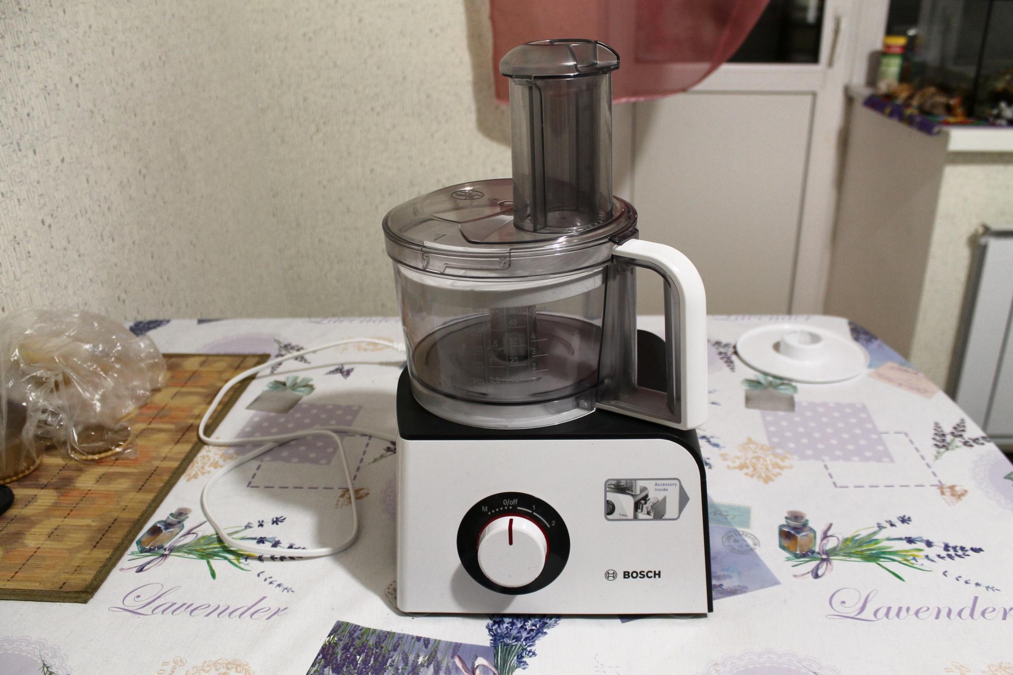 обзор от покупателя на кухонный комбайн Bosch Mcm4000 интернет