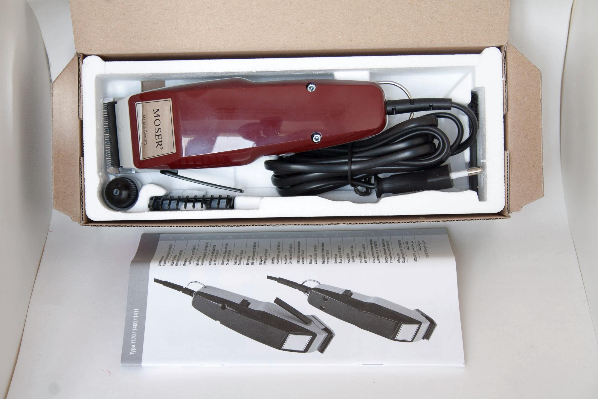 Машинка для стрижки волос moser 1400-0050