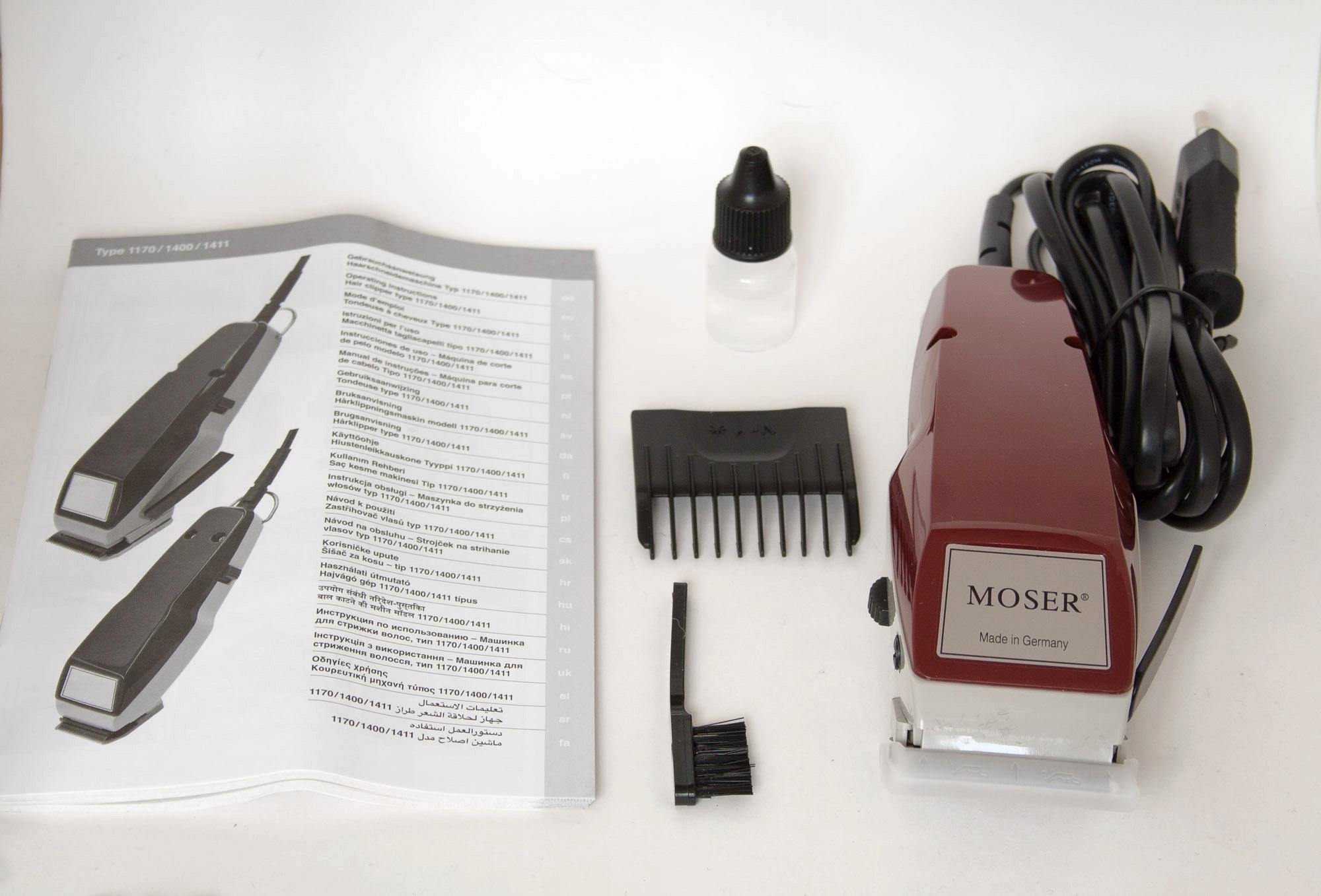 Машинка для стрижки волос moser 1400-0051 отзывы парикмахеров