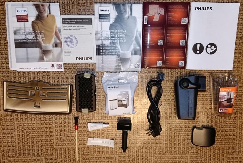 Обзор на Кофемашина Philips EP5030/10 - изображение 2