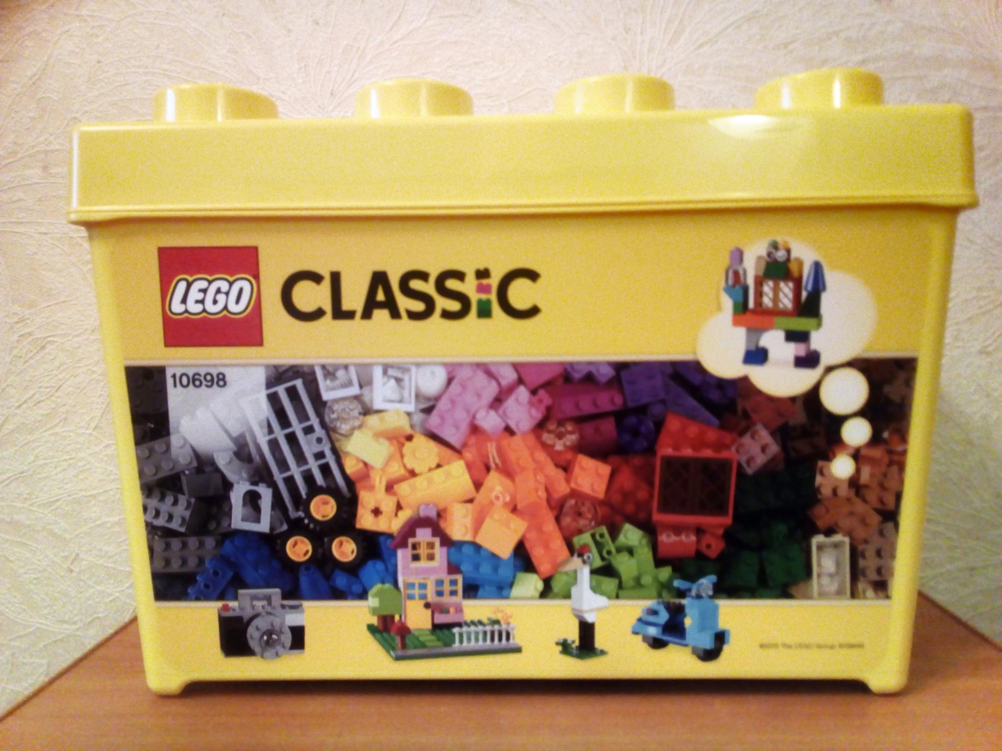 Обзор от покупателя на Конструктор LEGO Classic 10698 Набор