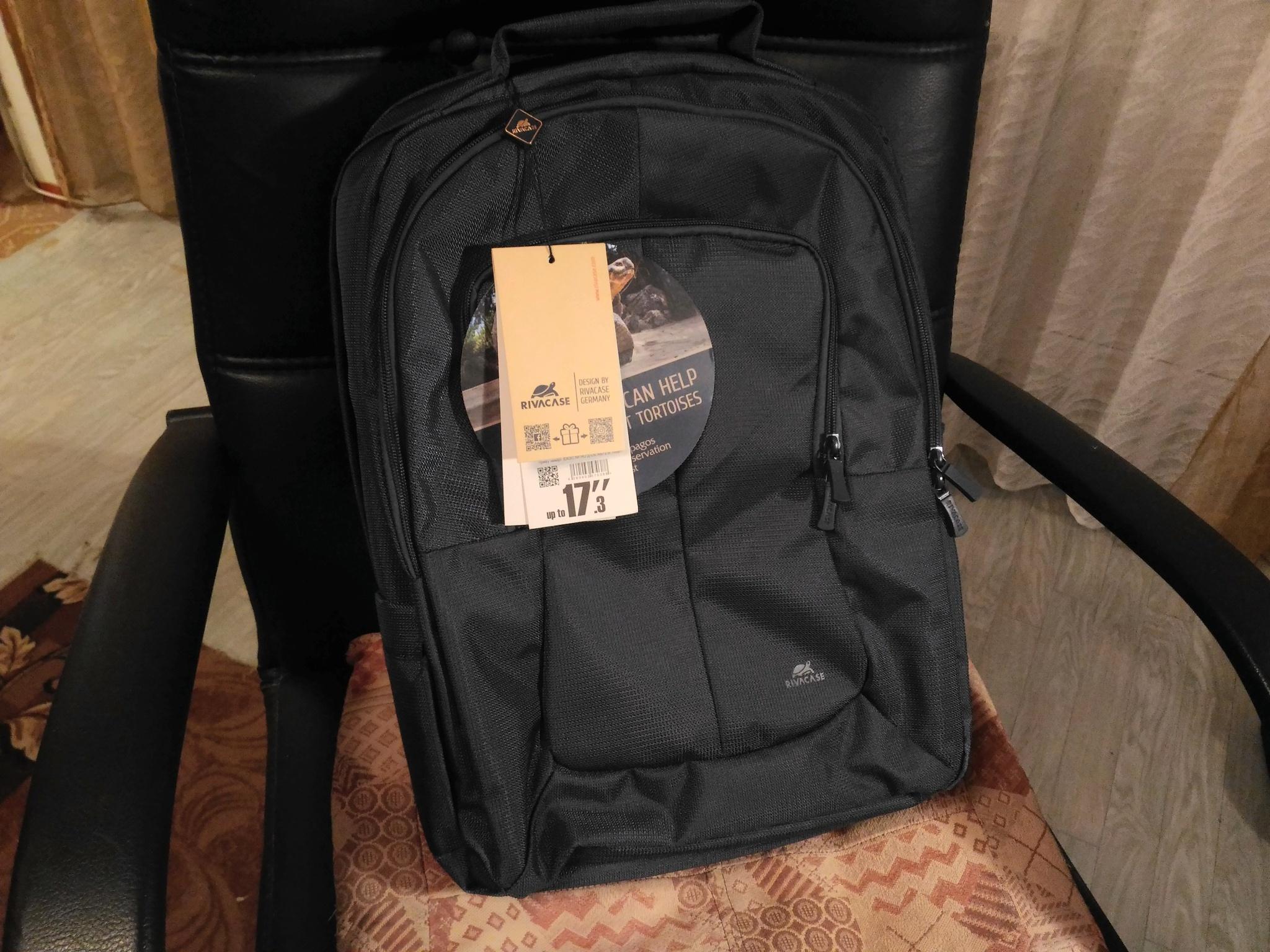 322823317687 Обзор на Рюкзак для ноутбука 17.3