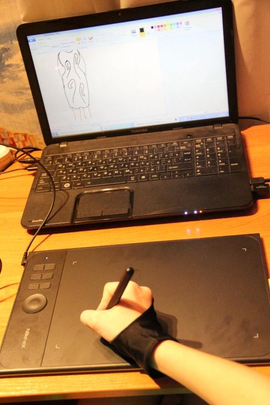 Обзор на Планшет графический XP-Pen Star 06C - изображение 12