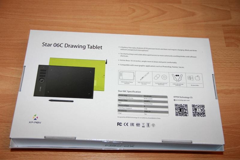 Обзор на Планшет графический XP-Pen Star 06C - изображение 4