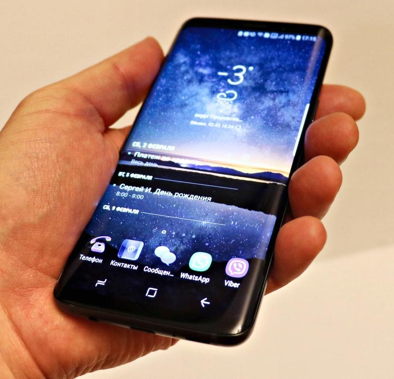 d9f3c14245a Обзор на Смартфон Samsung Galaxy S9 SM-G960F 64Gb титан - изображение 1
